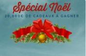 20.000 euros de cadeaux sur Monsieur Vegas en décembre
