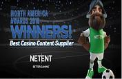 Netent sacré Best Casino Content Supplier de l'année