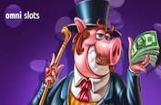 OmniSlots ! Son bonus de bienvenue de 300€ + 50 Tours Gratuits