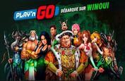 Les jeux Play'n GO débarquent enfin sur WinOui !