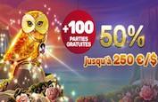 Bonus Reload du vendredi sur Playamo : Gagnez 100 parties gratuites en plus du bonus