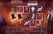 Habanero sort une nouvelle machine à sous magique appelée Presto!