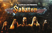 Sabaton, une machine à sous Play'n GO sur le groupe de metal suédois