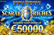 Scarab Riches Tournament : vous avez quelques jours pour gagner 50,000€ !