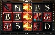Taboo, une machine à sous pour adulte signée Endorphina
