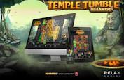 Temple Tumble, la machine à sous la plus prometteuse de Relax Gaming