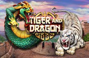 Tiger and Dragon : la machine à sous Red Rake avec sa structure originale et ses deux barres BONUS
