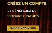 10 Free Spins gratuits à l'inscription chez Casino Unique avec InspecteurBonus