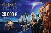 Vikings Invasion : Gagnez jusqu'à 3,000€ cash en un spin avec la promotion Cresus