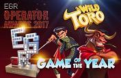 Wild Toro élue machine à sous de l'année aux EGR Operators Awards 2017