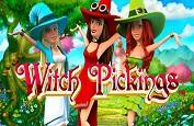 Witch Pickings - la machine à sous NextGen Gaming sur trois sorcières