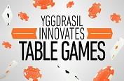 Yggdrasil Gaming se lance dans les jeux de table avec un nouveau concept